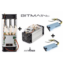 Kit 2 Mineradoras Bitcoin Antminer S9 + 2 Fontes Antminer