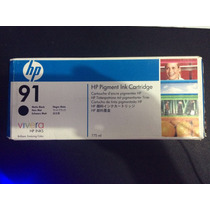Cartucho Hp 91 C9464a Matte Black 775ml
