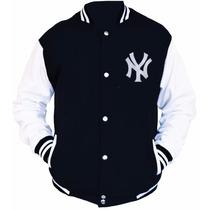 Jaqueta Blusa College Varsity New Yankees Pronta Entrega!