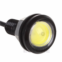 Led Drl Farol Xenon Luz Diurna Mini Milha Eagle Eye Day Cob