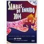 Dvd Sambas De Enredo 2014 - Escolas De Samba Rio G. Especial