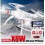 Drone Phantom Syma X8w Fpv Lipo Rc Filma & Foto Frete Gratis