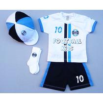 Conjunto Do Grêmio Para Bebê C/ 4 Peças
