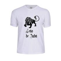Camisas Camisetas Jesus Deus Gospel Jovem Leão De Judá Fé