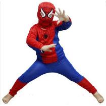 Fantasia Homem Aranha Spiderman Tamanho P, M, G Frete Gratis