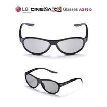Kit C/ 4 Óculos Passivos Lg Cinema 3d Ag-f310 ( Original )!