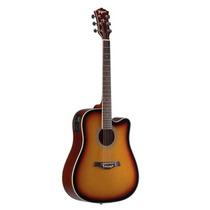 Violão Elétrico Folk Aço Kansas Sunburst Tagima #h43427