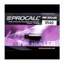 Rolete De Tinta Para Calculadora De Impressão Ir 40 Procalc
