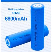 Bateria Recarregável 6800mah Profissional Lítio Nk18650 3.7v