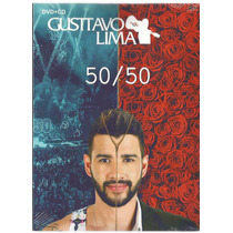 Kit Gusttavo Lima-50/50(dvd+cd Original)