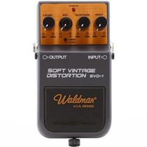 Pedal Para Guitarra Vintage Distortion Svd 1 Waldman 3637