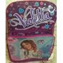 Mochila Infantil Feminina Violetta Argentina Pronta Entrega