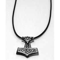 Pingente Mjolnir Clássico (odin, Martelo, Viking)
