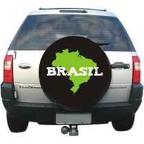 Capa Roda Estepe Spin Ecosport Crossfox Aircross - Brasil