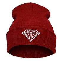 Touca Gorro Diamond Vermelha Importada Frete Gratis