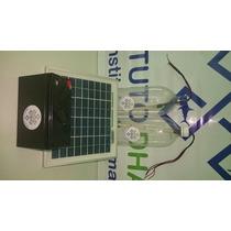 Luz Solar De Emergência - Kit Completo