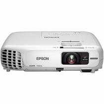 Projetor Epson W28+ Powerlite 3000 Lumens Wifi 1280x720p Hd