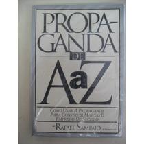 Livro Propaganda De A A Z Sebo Refugio Cultural!!!!!