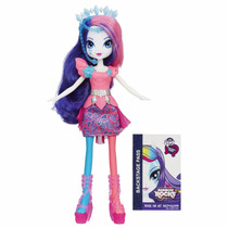 Boneca My Little Pony Equestria Girls Rarity Rainbow Rock