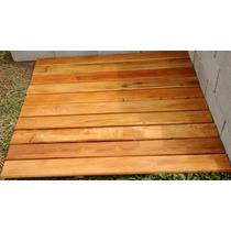 Deck Modular De Madeira De Reflorestamento