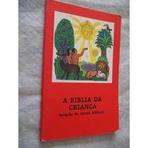 * Livro - A Biblia Da Criança - Religião