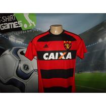 Camisa Do Sport Recife Usada No Brasileirão 2016.