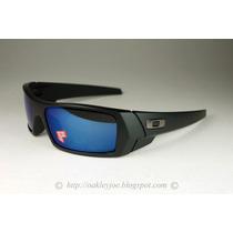 Oculos Oakley Gascan 26-244 Polarizado Preto Fosco Ice Iridi