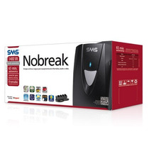 Nobreak Sms 700va Bivolt Net 4+ Completo Com Cabo