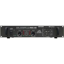 Amplificador Wattsom, Modelo W Power Iii 6800 Ab