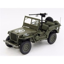 Jeep Willys Military Vehicle Us Army 1942 Verde 1:18 Norev
