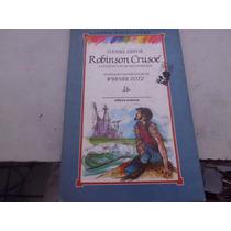 Livro Robinson Crusoé