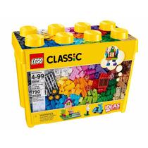 Balde Lego Caixa Criativa 10698 C/ 790 Pçs + Livro Sugestão