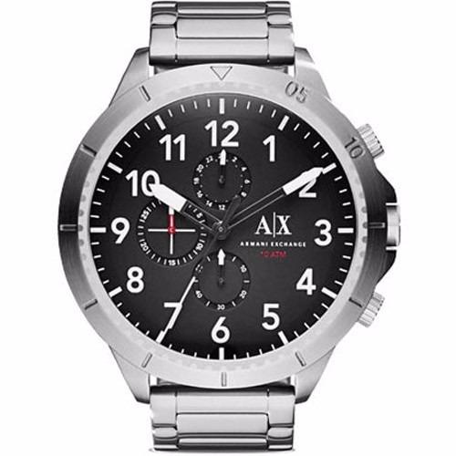 b4904a40b27 Relógio Armani Exchange Ax 1750 Pratiado Original Garantia