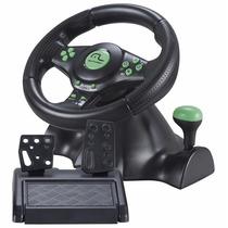 Kit 4x1 Xbox360/ps3/ps2/pc Volante Pedais Câmbio Multilaser