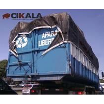 Tela Preta Transporte De Grãos Carga Seca Caçamba 4x3 Mts