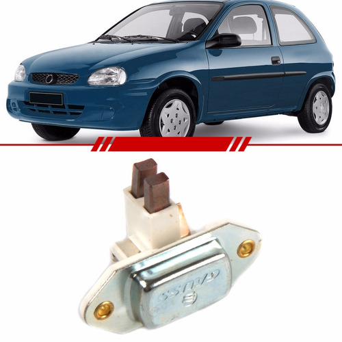 Regulador Voltagem Corsa Hatch Super Mpfi 95 / 02 Alternador