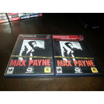 Max Payne Original Americano Completo P Playstation 2