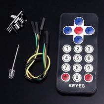 Kit Controle Remoto Ir + Receptor Ir Arduino