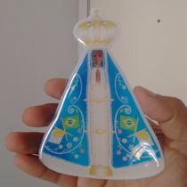 Adesivo Resinado Nossa Senhora De Aparecida Frete Grátis