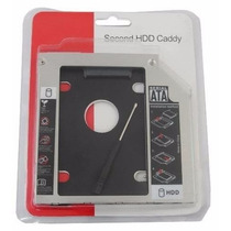Adaptador Caddy 9,5mm Sata Dvd Para Hd Ou Ssd Notebook Drive