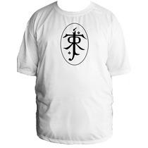 Camiseta Senhor Sr Anel Aneis Hobbit Tamanho Especial B