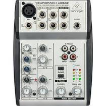 Mesa De Som Behringer Ub502 Eurorack Mixer 5 Canais 110v