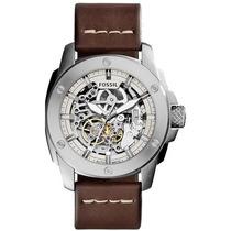Relógio Fossil Automatico Me3083/0kn 2016 Esqueleto Lançamen