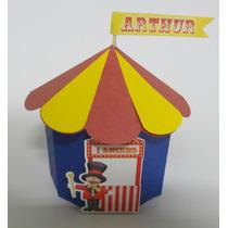 Caixinha Tenda Circo Palhaço Magico Com 10 Unidades!