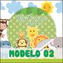 Safari Infantil Rótulos Personalizados 40 Unid. Só R$ 9,50
