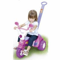 Triciclo Infantil Menina Baby Music Da Cotiplás Super Oferta