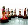 Coleção De Bonecas Orientais Miniatura Decoração (unidade)