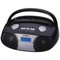 Som Portátil Motobras Fm Mod. Rbm-pfs11ac Relógio/alarme
