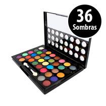Paleta De Sombras 36 Cores