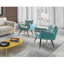 Poltrona Decorativa Maia - Estofados Cadeiras